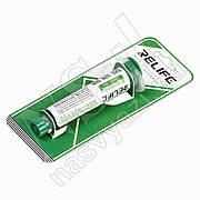 Лак для плат RELIFE RL-UVH-900G (10мл) в шприце, зелёный