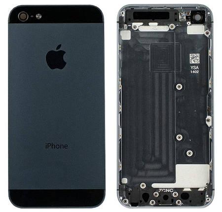 Задняя крышка iPhone 5 black, сменная панель айфон, фото 2