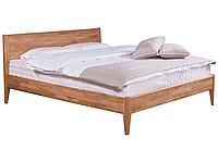 Кровать деревянная Bed4you щит Дуб (Лугано 160*200 лак полумат)