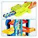 Детский развивающий трек многоуровневый автопарк с машинками, фото 3