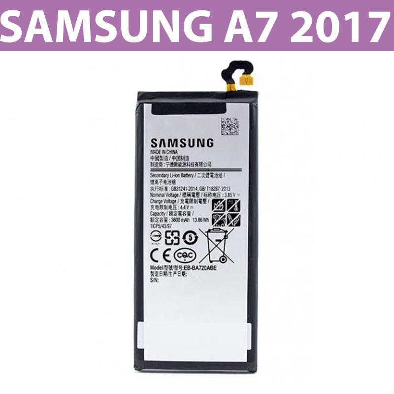 Аккумулятор Samsung Galaxy A7, A720 (EB-BA720ABE) / батарея Самсунг А7 2017