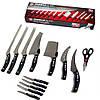 Набор профессиональных кухонных ножей Miracle Blade 13 в 1, фото 2