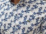 Мужская рубашка Lacoste H0703 разноцветная, фото 2