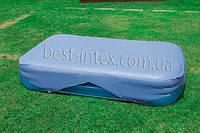 Тент для прямоугольного семейного бассейна Intex 58412