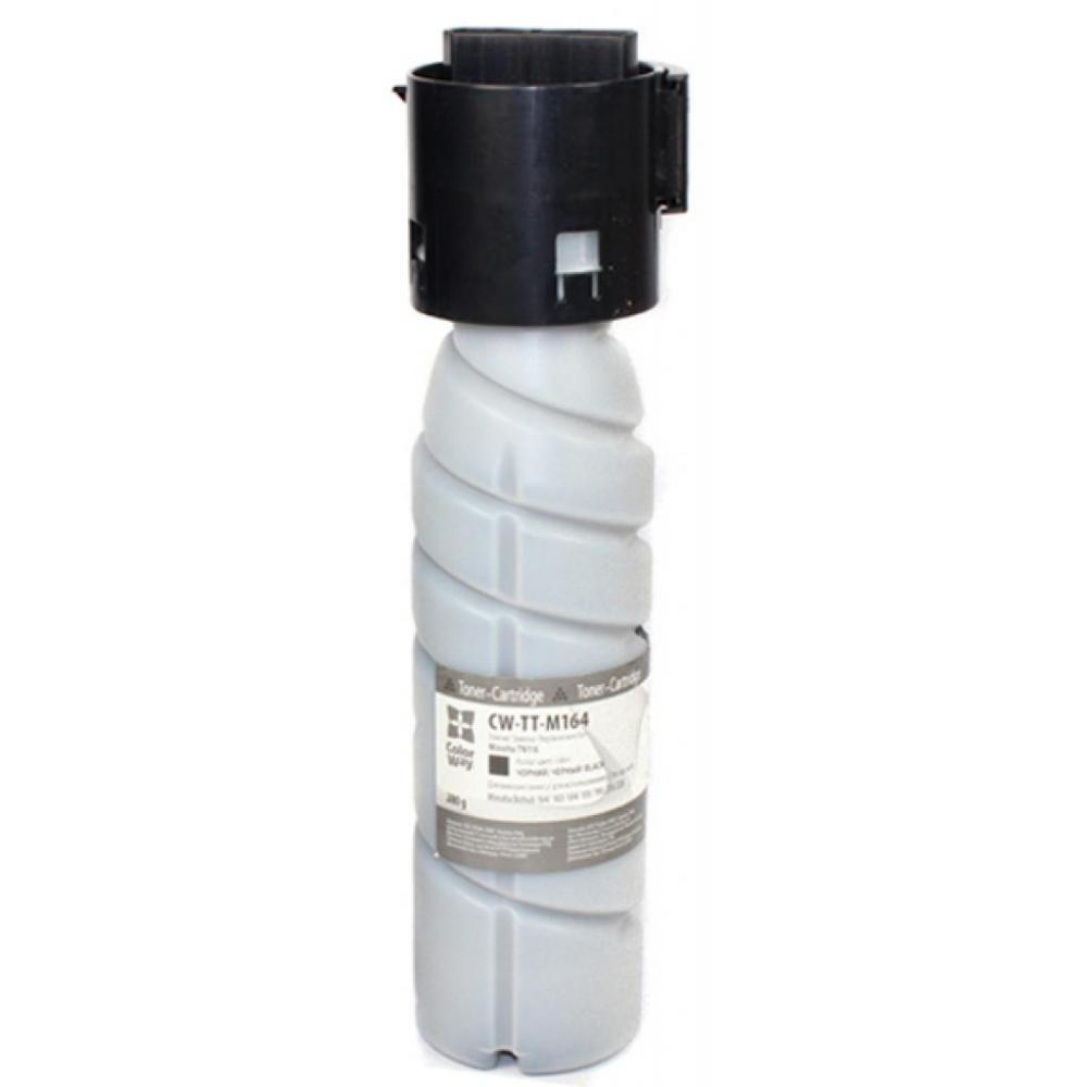 Тонер Konica Minolta TN-116, Black, Bizhub 164/165/184/185, туба, 13.2k, ColorWay (CW-TT-M164)