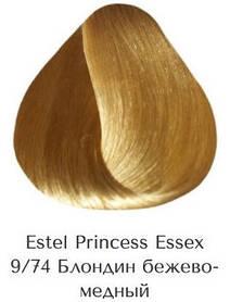 Estel Princess Essex 9/74 Блондин бежево-мідний