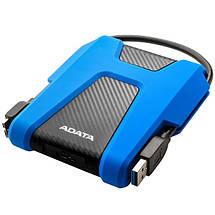 """Внешний жесткий диск 1 Тб/Tb A-Data DashDrive HD680, Blue/Black, 2.5"""", USB 3.1 (AHD680-1TU31-CBL), фото 2"""