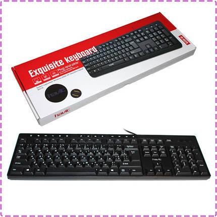Клавиатура Havit HV-KB373, Black, USB, фото 2
