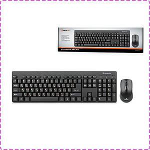 Комплект (клавиатура + мышь) REAL-EL Standard 503 Kit Black, Optical, USB