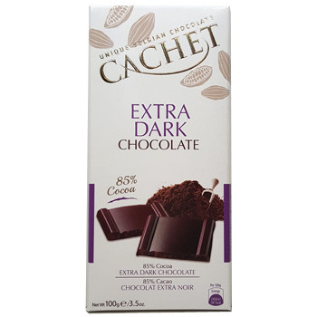 Cachet Чёрный шоколад 85% какао