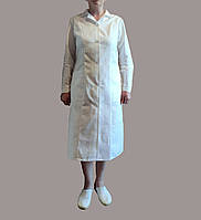 Халат женский рабочий(ткань бязь)