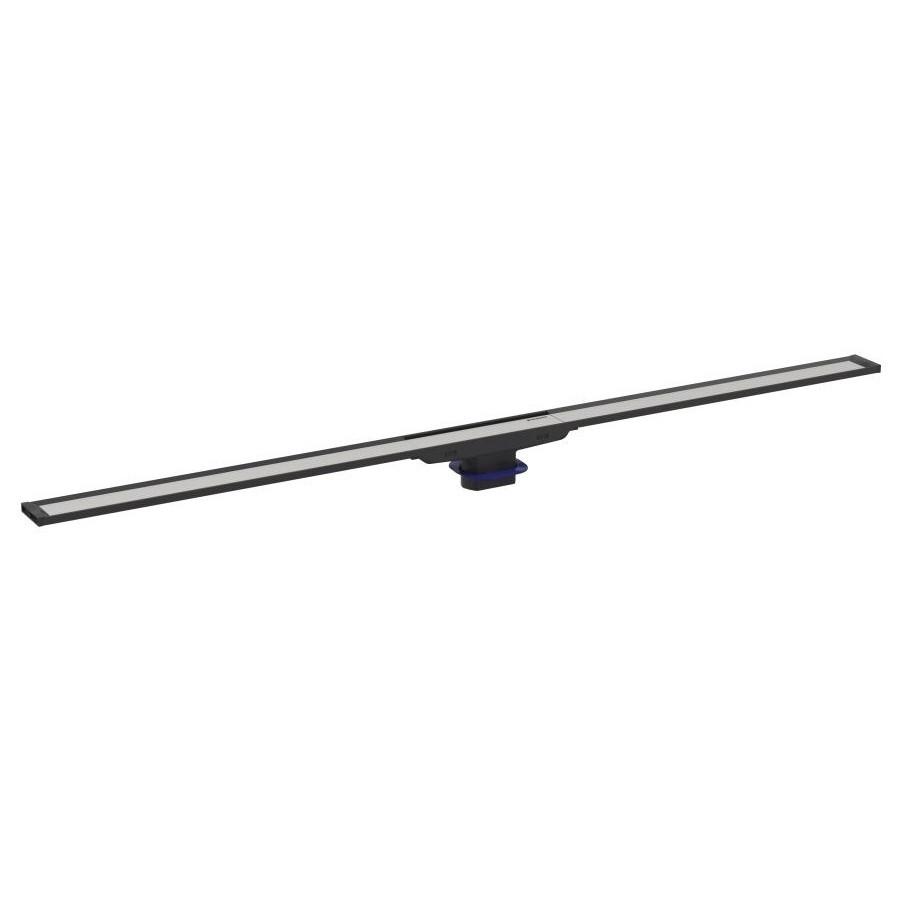 CLEANLINE20 дренажный канал, L30-90см, тёмный/матовый металл
