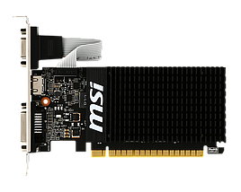 Відеокарта GeForce GT710, MSI, 2 Гб DDR3, 64-bit (GT 710 2GD3H LP), відеокарта, фото 3
