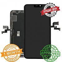 Дисплейный модуль для iPhone X TIANMA копия AAA+ (LCD экран, тачскрин, стекло в сборе)