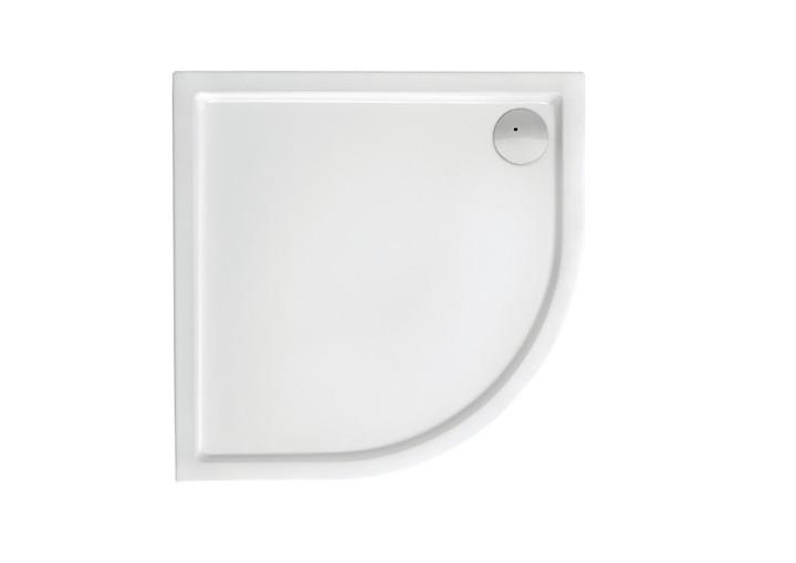 MALAGA Rondo Compact поддон полукруглый 90*90 с интегрированной панелью выс.13,5 см, с сифоном
