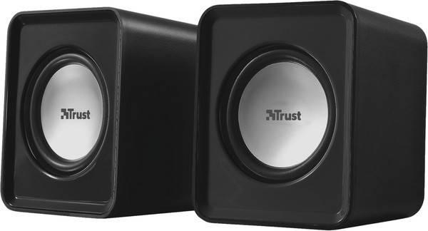 Колонки 2.0 Trust Leto Black, USB, сателлиты 2 x 1.5 Вт, 150-20000Hz, пластик, управление сзади, фото 2