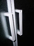 "TISZA душевая кабина 80*80*185см (стекла + двери), профиль белый, стекло ""Zuzmara"", фото 2"