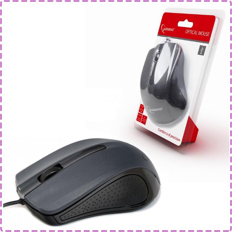 Мышь Gembird MUS-101, оптика, Black USB, мышка