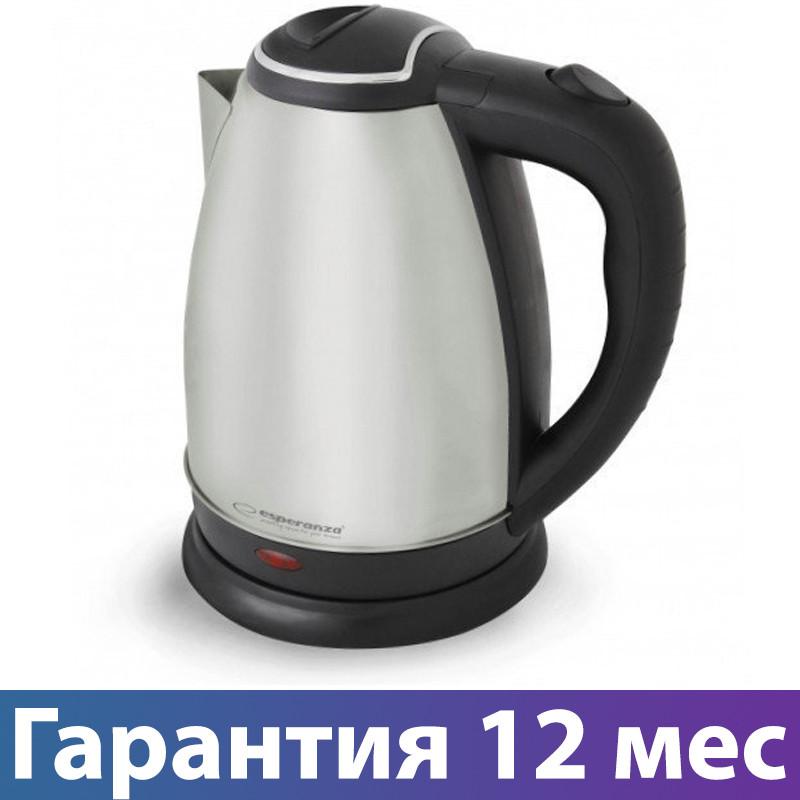 Электрочайник Esperanza EKK004I, 2200 Вт, 1.8 л, чайник электрический, електрочайник