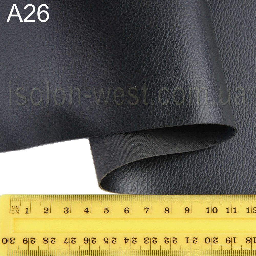 Термовинил HORN (черный A26) для обтяжки торпеды, ширина 1.40м