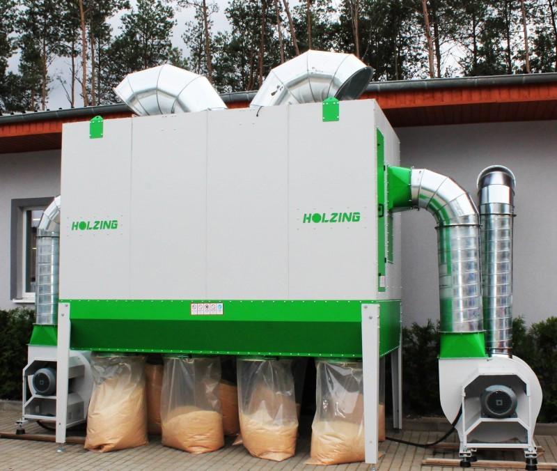 Аспірація Holzing RLA 600 VIBER Power 19500 м3/год