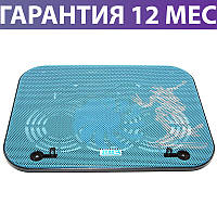"""Охлаждающая подставка для ноутбука 15.6"""" Notebook Cooler V18, с вентилятором"""