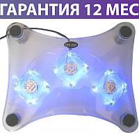 """Охлаждающая подставка для ноутбука 15.6"""" Esperanza Notebook Cooling Pad EA107 Levanter, 3 вентилятора"""
