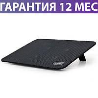 """Охлаждающая подставка для ноутбука 15.6"""" Gembird NBS-1F15-02, 4 вентилятора"""