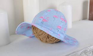 Детская панамка для девочки MagBaby Украины 102627 Голубой