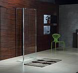Стенка Walk-In 30*190см, каленое прозрачное стекло 8мм, фото 3