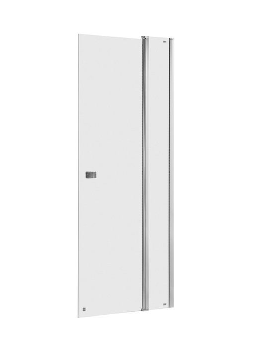 CAPITAL дверь душевая 90*195см, одностворчатая, с недвижимой частью