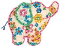 """Набор для вышивания """"Декоративная игрушка"""" ТН-0739 Слоненя (дівчинка)"""