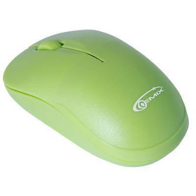 Беспроводная мышка Gemix RIO 1200 DPI, Green, компьютерная мышь гемикс для ПК и ноутбука, фото 2