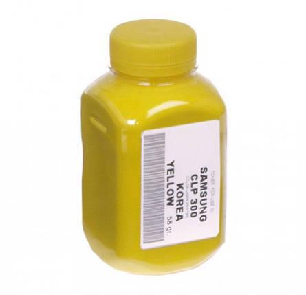 Тонер Samsung CLP-310/320, CLX-3185, Yellow, 58 г, АНК (1502360, Корея), фото 2