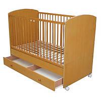 Детская деревянная кровать F-10 светлая