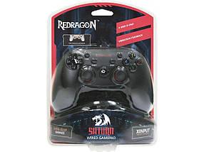 Джойстик для ПК Defender Redragon Saturn USB, PS3, проводной геймпад для компьютера/ноутбука, фото 3
