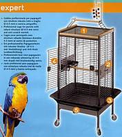 EXPERT 100 - клетка-вольер для крупных попугаев. 125(100)*103(78)*178(162) cм Ferplast (Ферпласт)