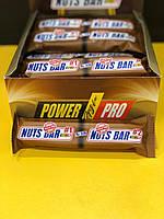 Протеиновый батончик Power Pro Nuts Bar SUGAR FREE 70 г.