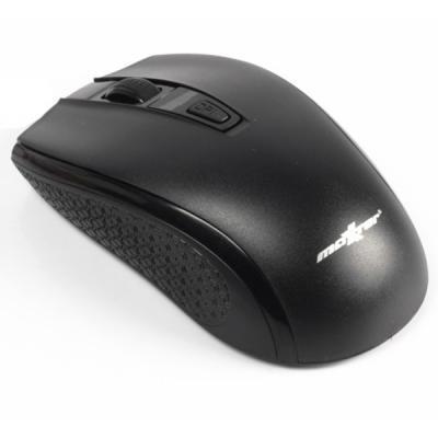 Беспроводная мышка Maxxter Mr-331, Black, компьютерная мышь макстер для ПК и ноутбука