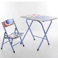Детский складной столик со стульчиком A19-FB