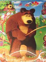 """Набор наклеек """"Маша и медведь"""""""