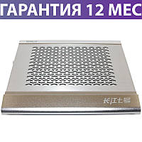 """Охлаждающая подставка для ноутбука 15.6"""" Notebook Cooler M166, Silver, вентилятор, 339x294x49 мм, 1237 г"""