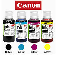 Комплект чернил ColorWay Canon PG-445/CL-446, 4x100 мл, краска для принтера кэнон для картриджа кенон чернила