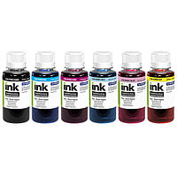 Комплект чернил ColorWay Epson L800/810/850, 6x100 мл (CW-EW810SET01), краска для принтера эпсон