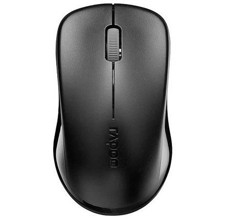 Беспроводная мышь Rapoo 1620 wireless Black, мышка, фото 2