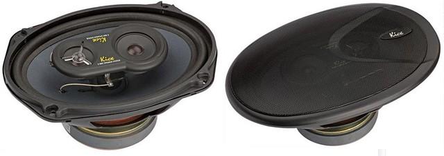 Автомобильная акустика Kicx PD 693 (16x23см). Коаксиальные 3-полосные динамики