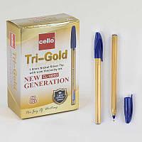 Набор шариковых ручек С 37032 (80) синяя паста /ЦЕНА ЗА УПАКОВКУ 50ШТ/ диаметр пишущего узла 1 мм