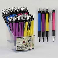 Набор шариковых ручек С 37071 (40) синяя паста/ЦЕНА ЗА УПАКОВКУ 60ШТ/ диаметр пишущего узла 0,8 мм