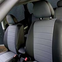 Чехлы на сиденья Volkswagen Touareg 2014-2018 из Экокожи (Союз АВТО), полный комплект (5 мест) Фольксваген