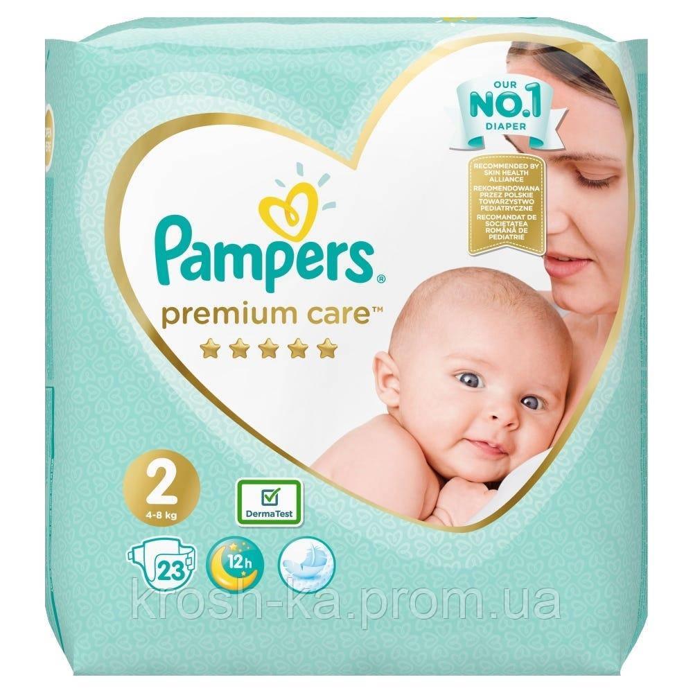 Подгузники Pampers Premium Care 2(4-8кг) 23шт Польша 89694